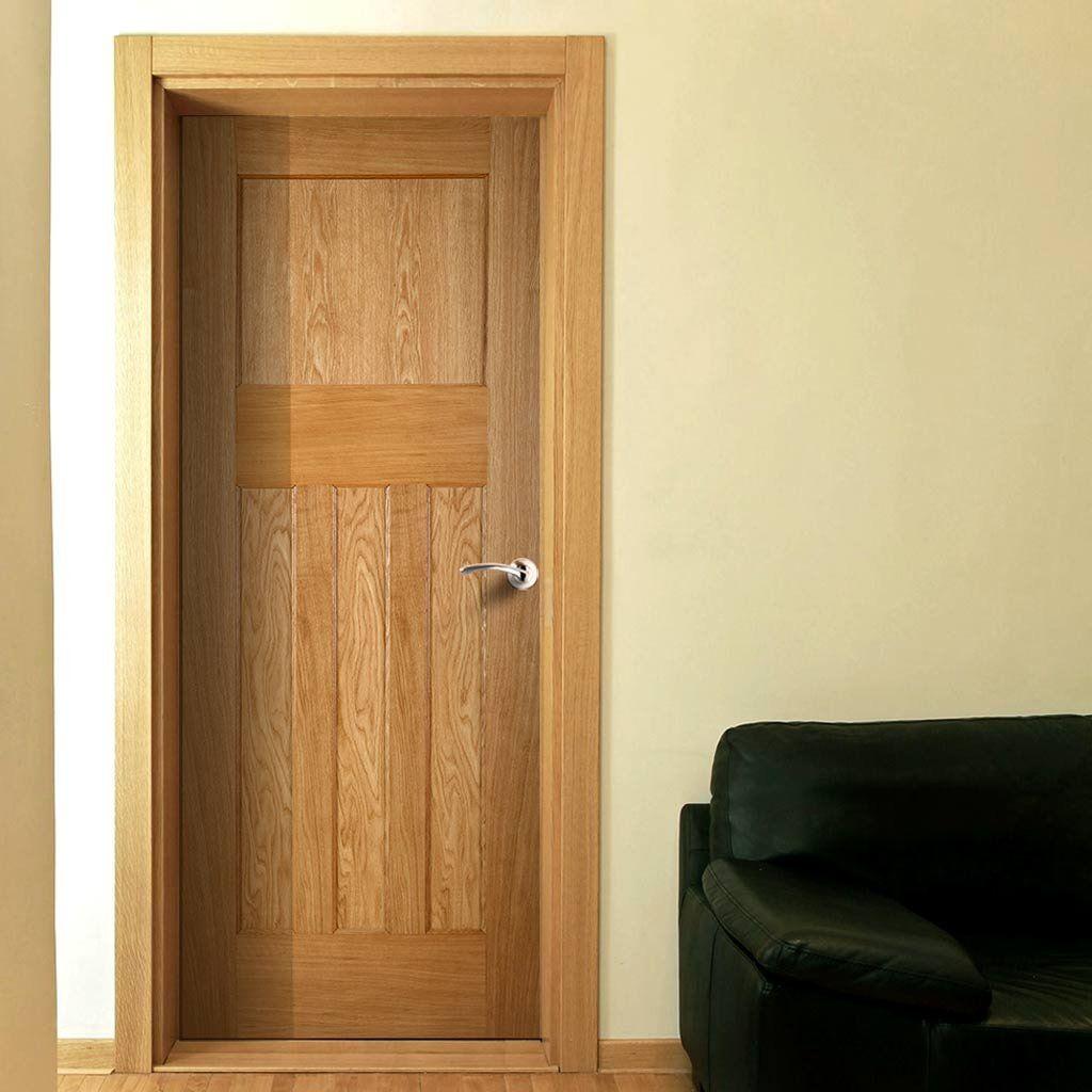 Period Oak 1930 S 4 Panel Oak Door Is 1 2 Hour Fire Rated Deurpanelen Doors