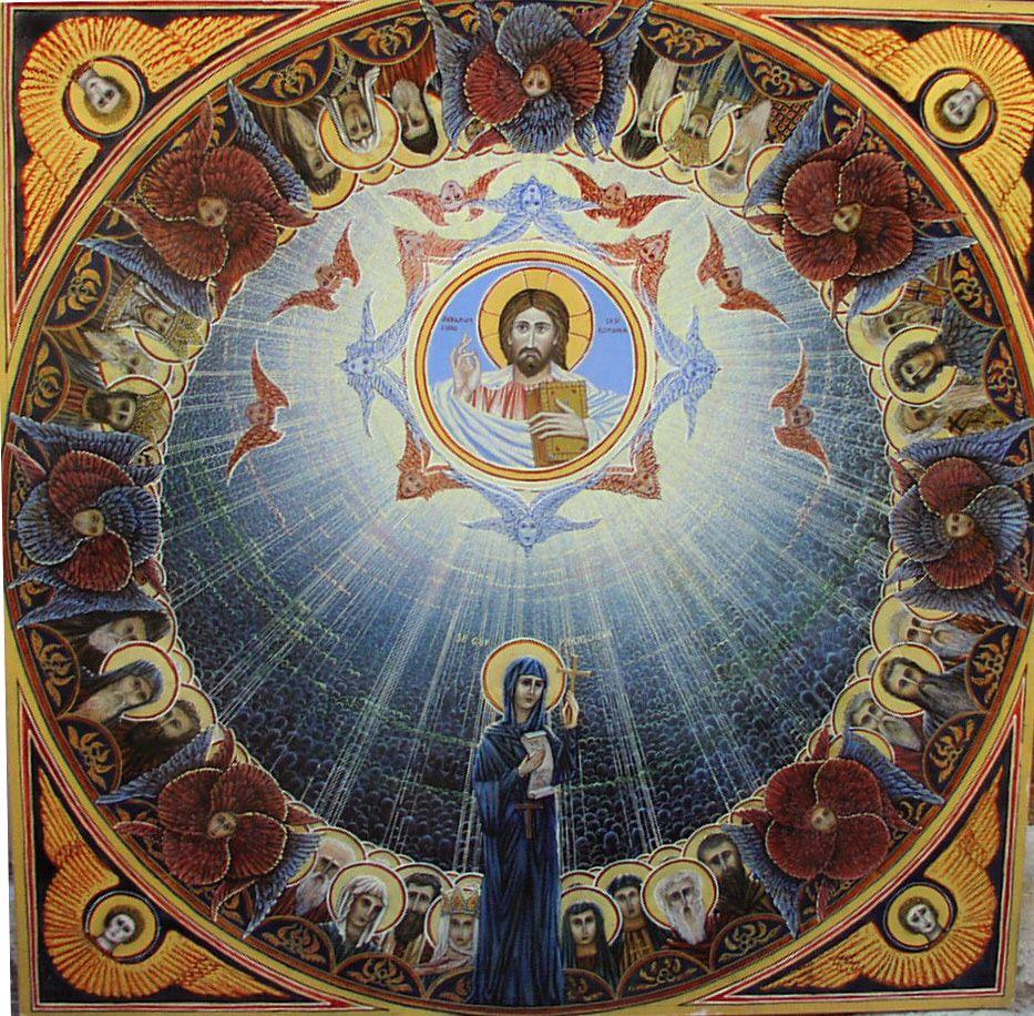 Ikone Hl.Parascheva Nationalheilige Von Rumänien Auftrag Des Patriarchen  Von Rumänien An Angerer