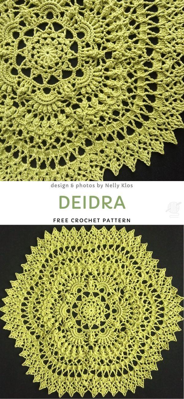 Deidra Free Crochet Pattern