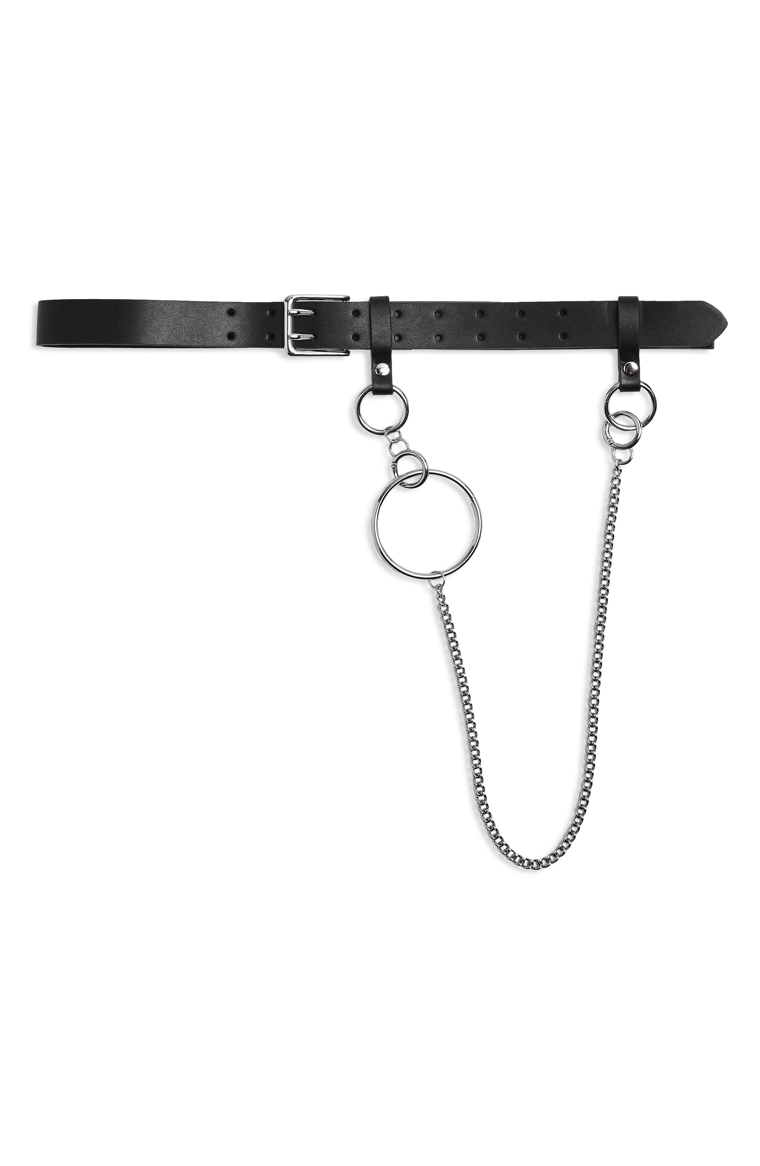 Topshop Double Prong Chain Belt   Chain belts, Chain, Belt