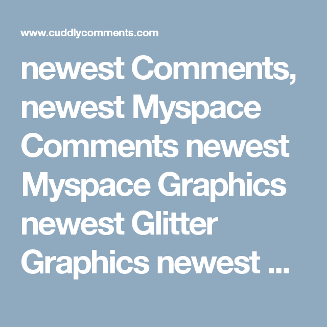 Commit error. Cool sexy comments for myspace doesn't