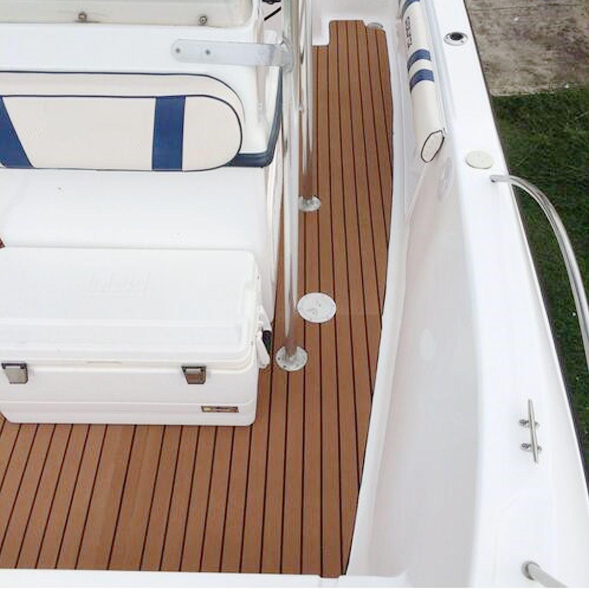 Boat Flooring Faux Teak Decking