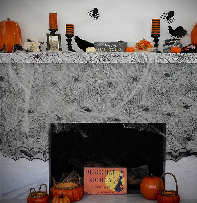 Pin by VELCRO® Brand on DIY HALLOWEEN MANTEL WITH SABRINA SOTO