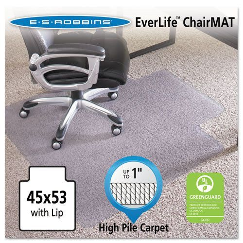 Es Robbins Everlife Intensive Use Chair Mat For High To