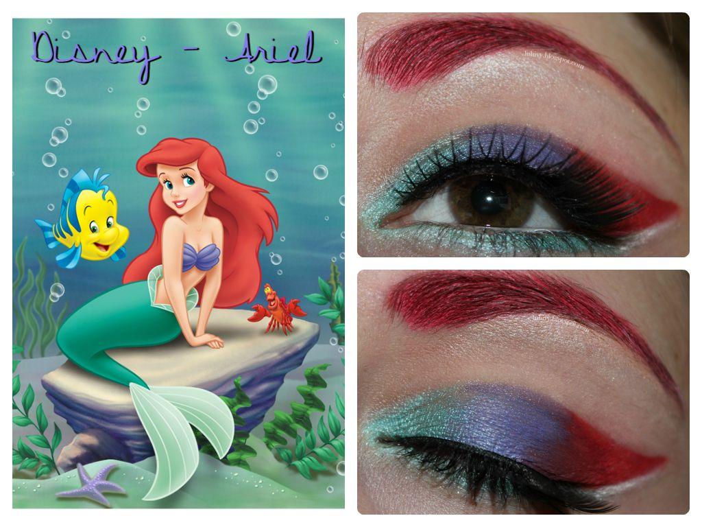 Disney Makeup Series The Little Mermaid Ariel Inspired
