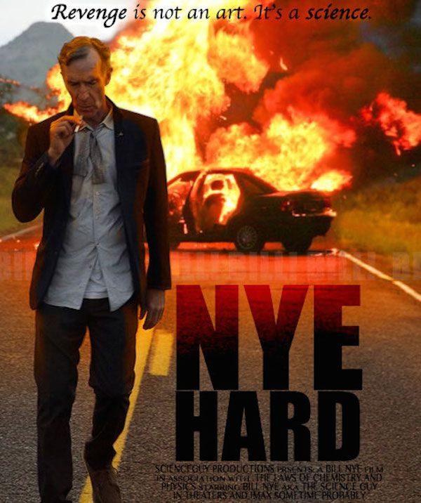Bill Nye\'s latest photoshop battle involves lots of explosions (26 ...