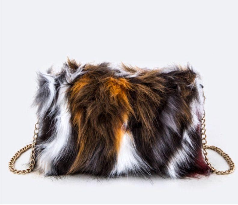 Furry Cross body Bag