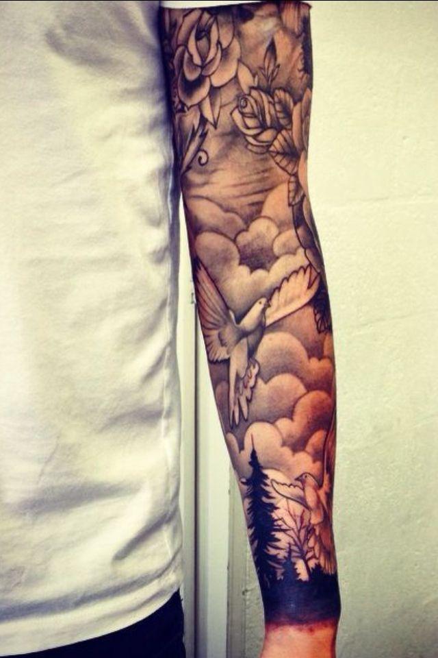 Ink Tattoo | tattoos | Tattoos, Sleeve tattoos, Cloud tattoo