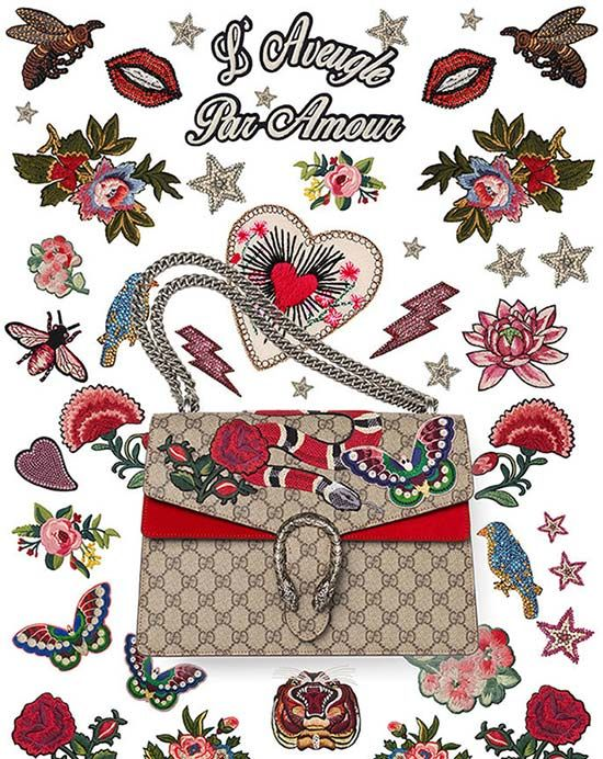 Gucci Offers DIY Service To Customize Your Dionysus Bag