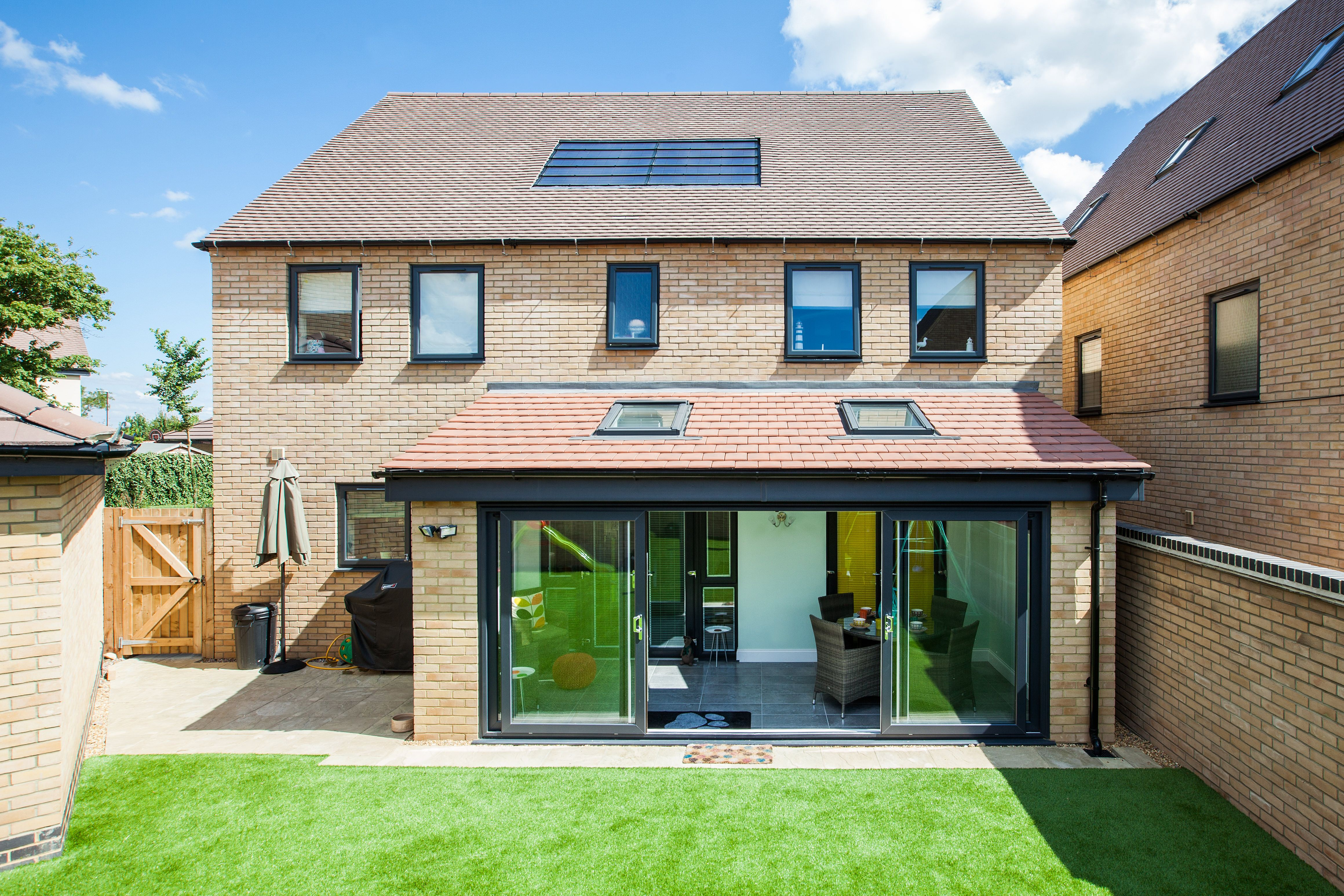 Bi fold doors and lean to conservatory by SEH BAC | Case Study ...