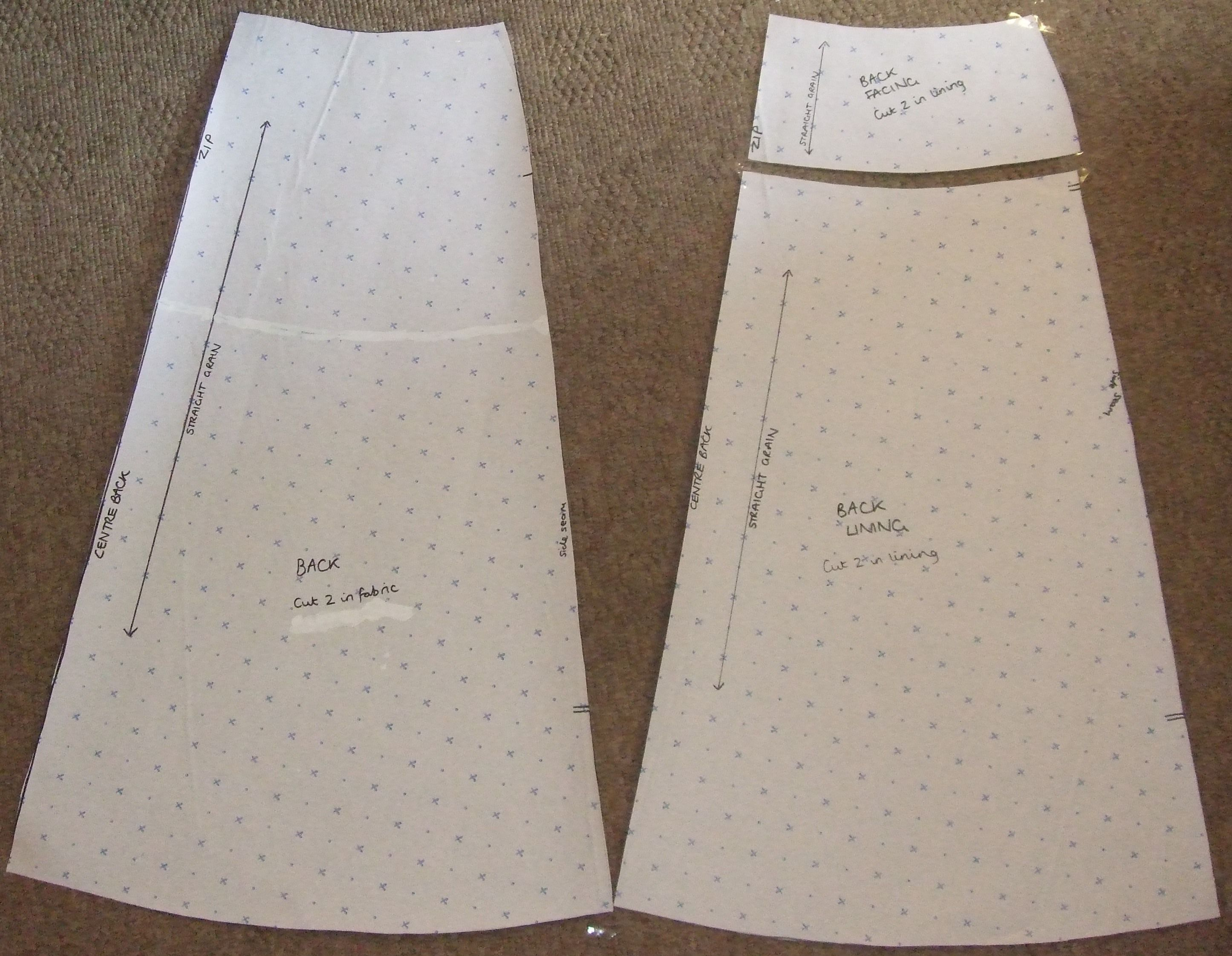 How to make your own pattern for an A-line skirt | An, A line and ...