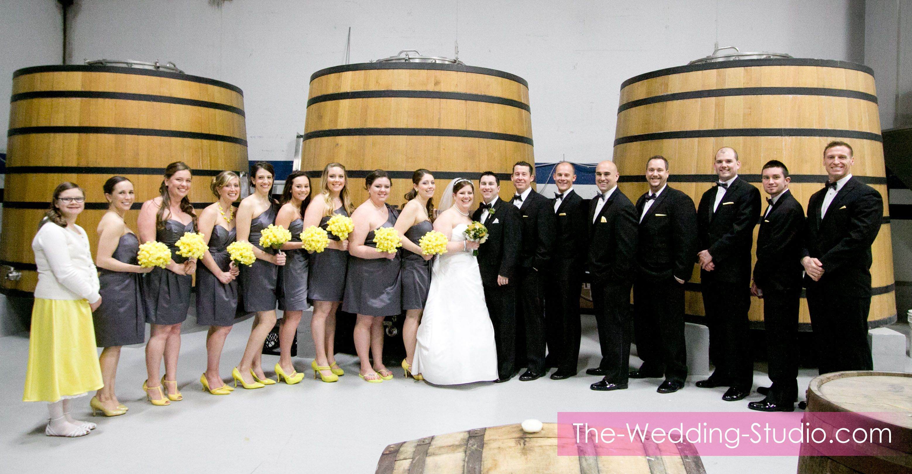 Have fun with wedding day pictures at Two Brothers Brewery