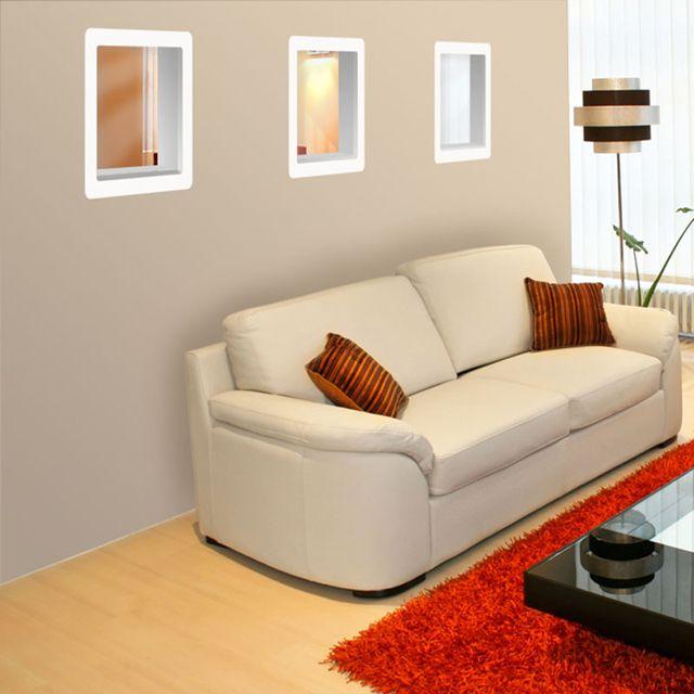 hublot de cloison mdf pr peint bricolage maison. Black Bedroom Furniture Sets. Home Design Ideas