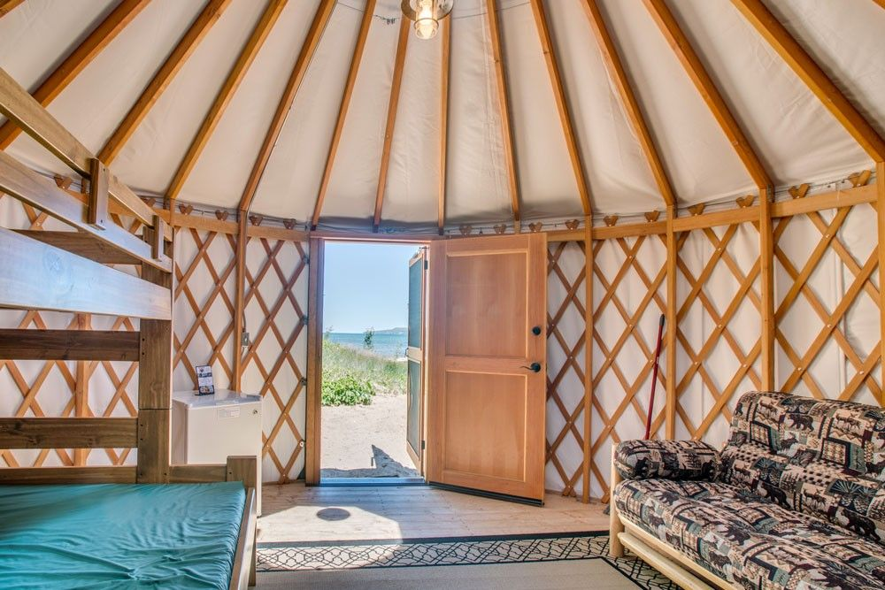 Uncle Ducky S Paddlers Village Yurts On Lake Superior In Christmas Au Train Michigan Paddler Michigan Travel Yurt Camping There are two types of villages depending on the divisions it belongs to. michigan travel yurt camping