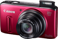 Best Digital Camera for Vacation - Canon SX260 HS Light Field Camera