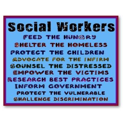 Social Workers  Social Work    Social Work School