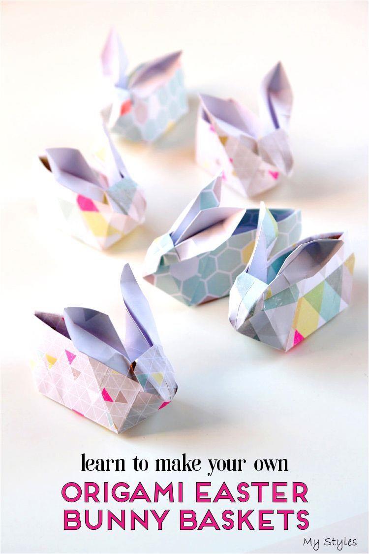 Photo of DIY ORIGAMI OSTER HÄSCHENKÖRBE. – Schönheit sammeln #origami