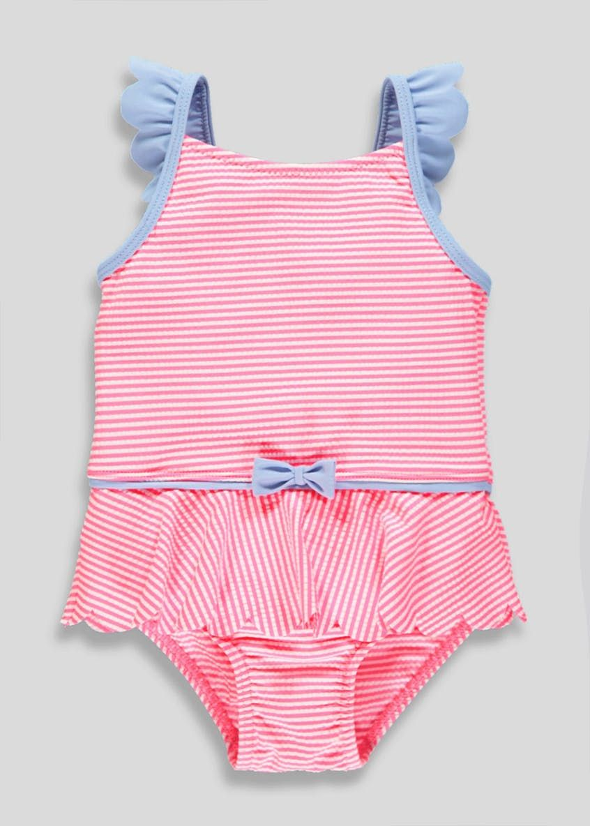 Perfect Kids Moana Swimming Costume (2 9yrs) U2013 Aqua U2013 Matalan