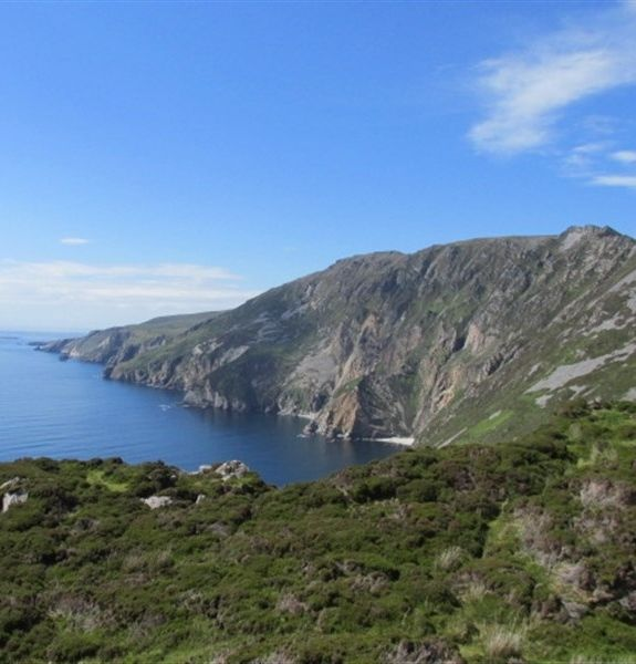 Slieve League Cliffs, Donegal, Ireland. 609m (1,998 feet) (almost three times as high as the Cliffs of Moher).