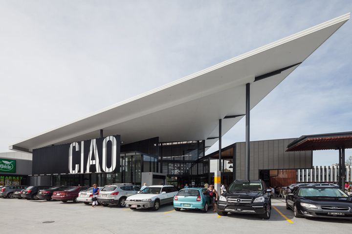Landini Associates developed the strategy and designed the market hall interior, identity, way finding, graphics and even the leasing brochures for Capri on via Roma, the Gold Coast's long-awaited new fresh-food market.