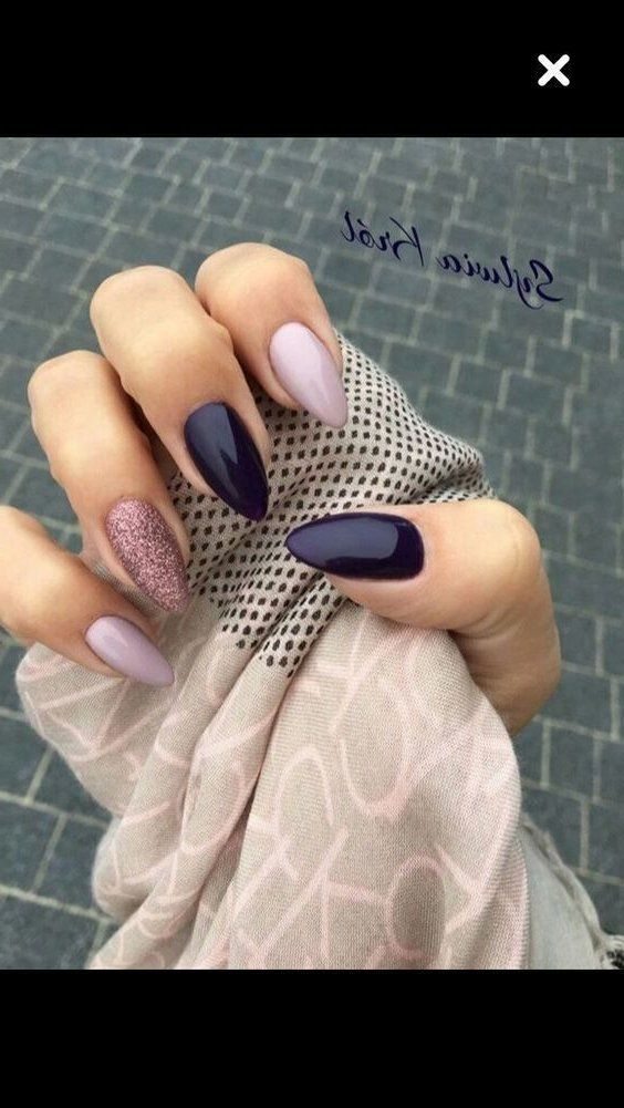 47 Most Eye Catching And Gorgeous Light Colour Nails Design With Different Colors For Beginn Plum Nails Summer Nails Colors Designs Bright Summer Nails Designs