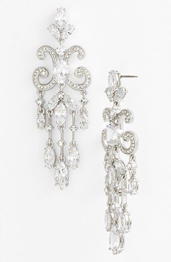 Nadri Chandelier Earrings Available At Nordstrom Want These For My Wedding Crystal Wedding Jewelry Bridal Jewelry Wedding Jewelry