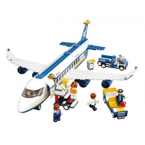 Passenger Plane Lego Compatible Flight 372 Pinterest Lego