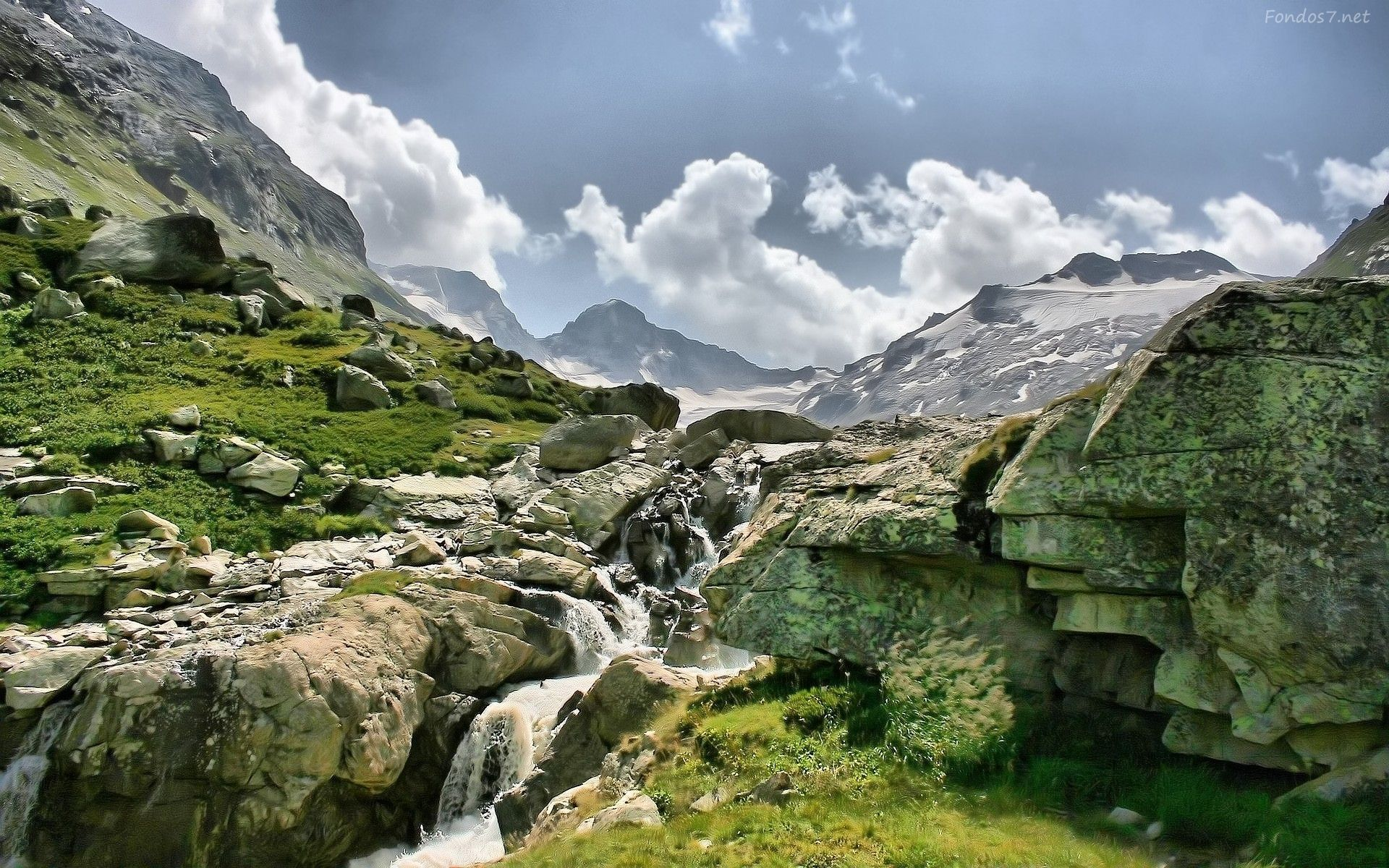 Fondo Pantalla Paisaje Cascadas Y Naturaleza: Mountains, Wallpaper Y