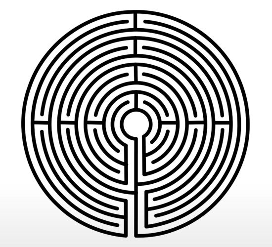 The labyrinth In Greek mythology, the Labyrinth was an elaborate ...