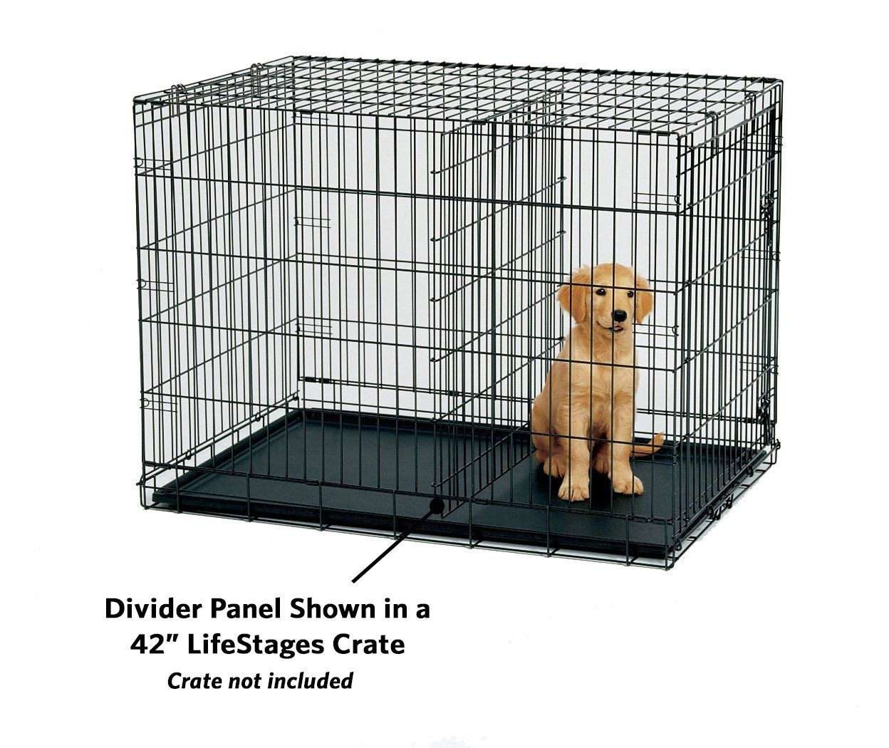 Midwest Homes For Pets Divider Panel Fits Models 1624 1624dd 1924 And 724up Click Image For More Details This Is An Dog Crate Divider Dog Crate Dog Door