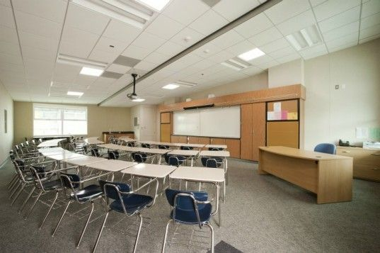 Modern Day Classroom Design ~ Schools in costa mesa use upcycled shipping containers