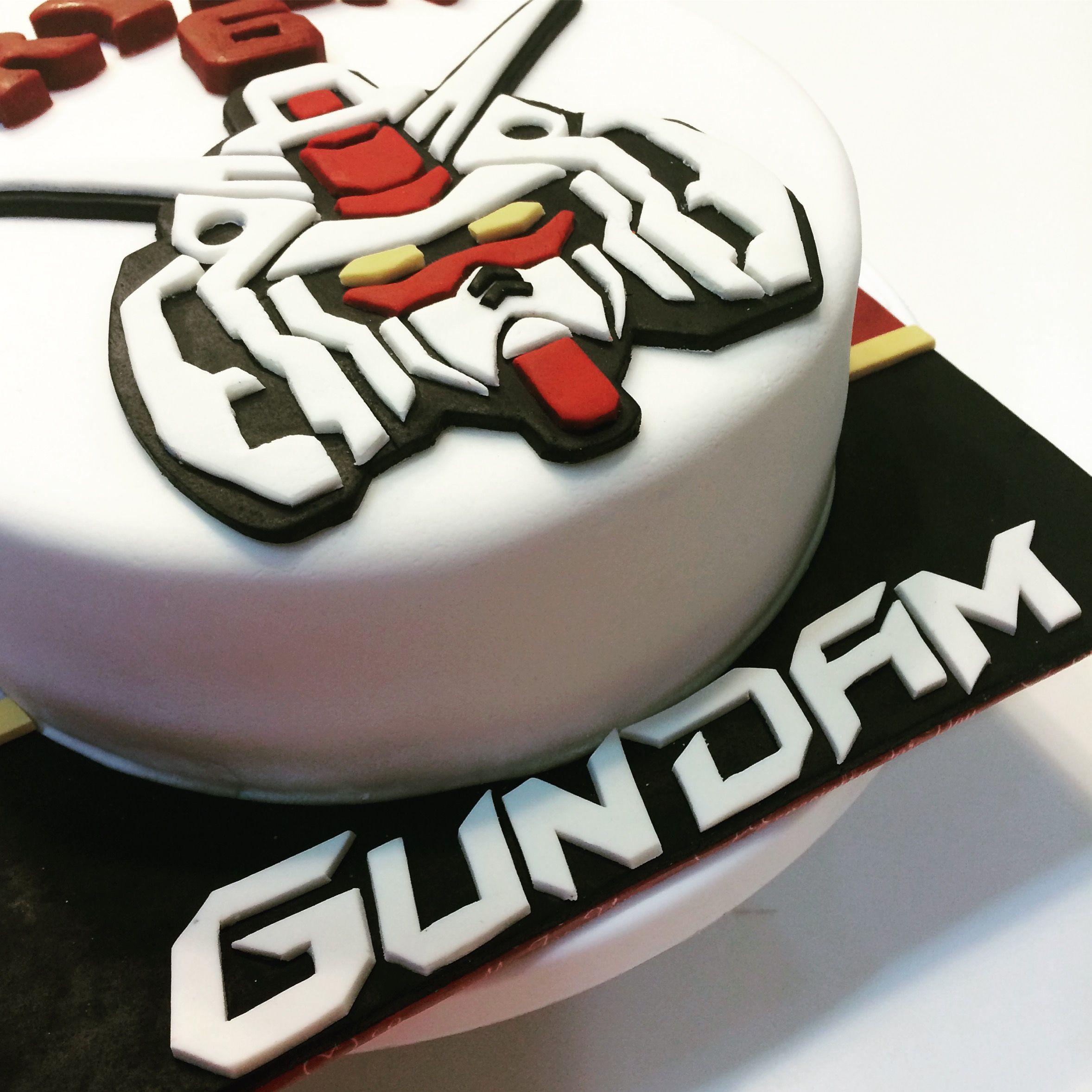 Gundam Themed Birthday Cakes Pinterest Themed Birthday Cakes