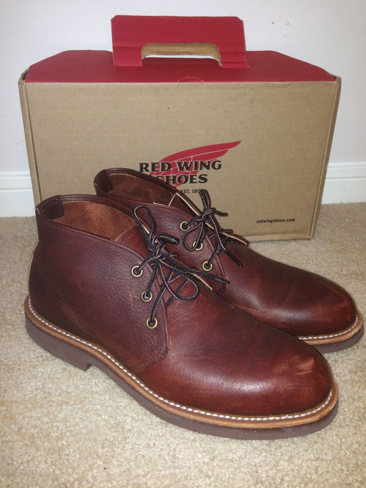 Red Wing 9215 Foreman Chukka Boots