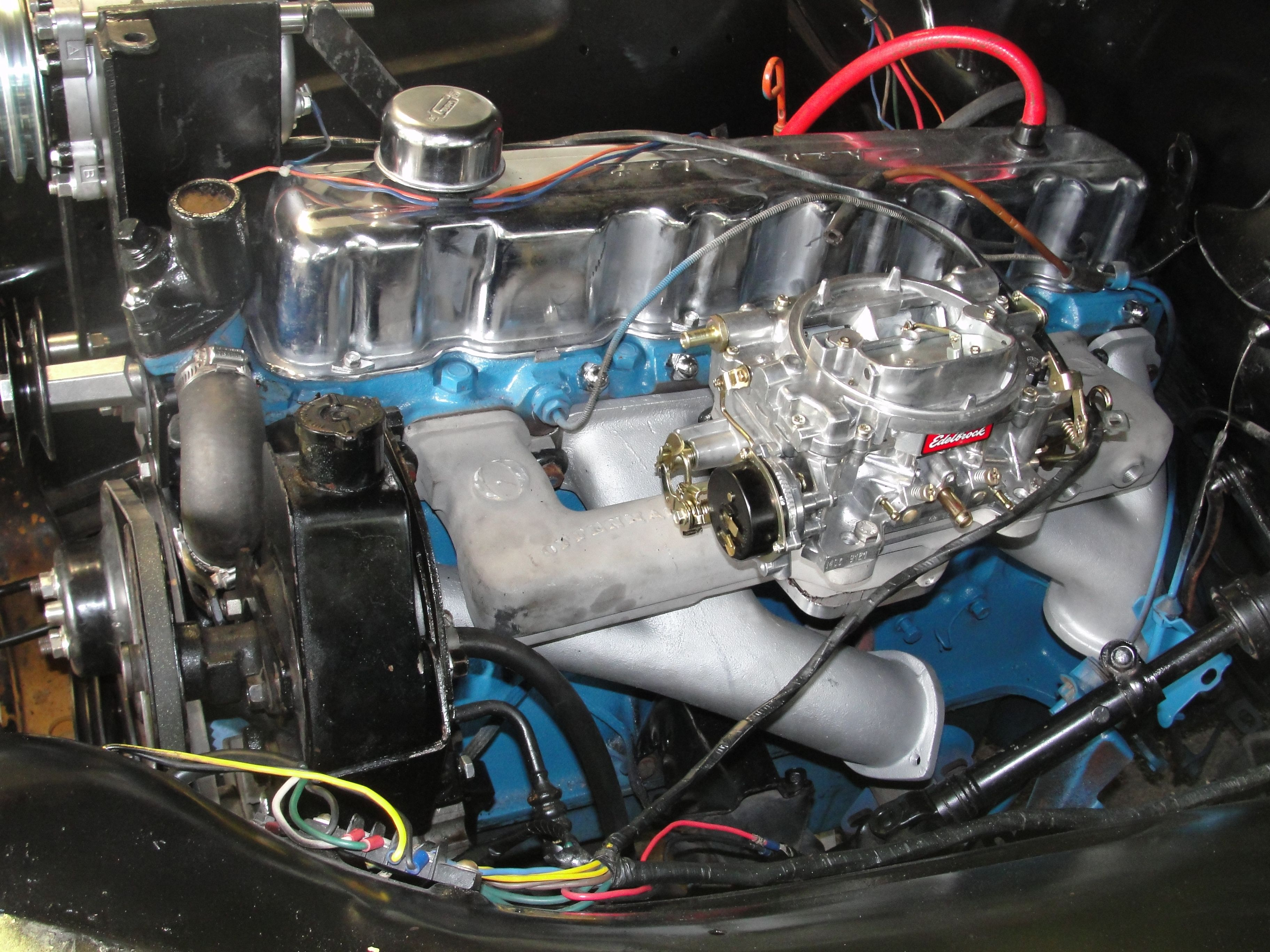 Stock 292 inline 6 motor with a 350 turbo and offinhauser