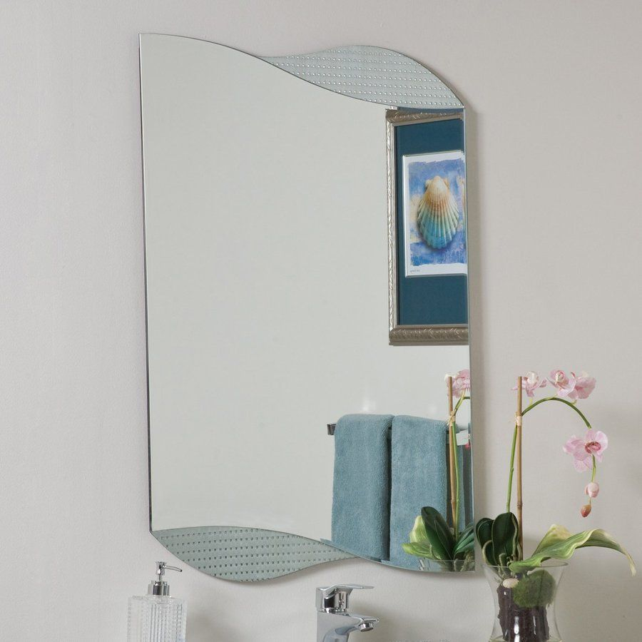 Decor Wonderland Sonia 23.6-In X 33.5-In Other Frameless Bathroom ...