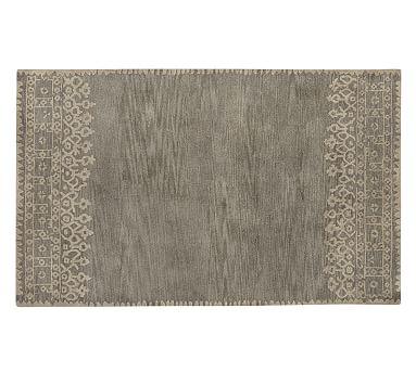 Desa Bordered Wool Rug Terra Cotta Rugs On Carpet Wool Area Rugs Grey Rugs