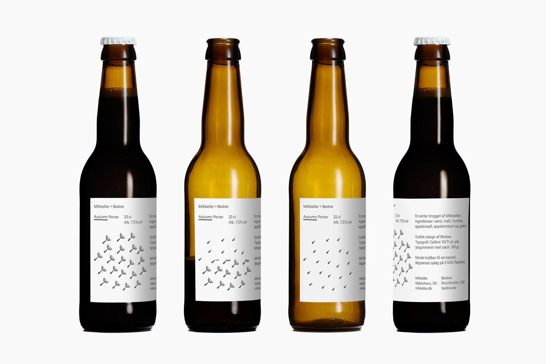 Mikkeller Autumn By Bedow Minimal Packaging Beer Design Beer Craft Beer Packaging