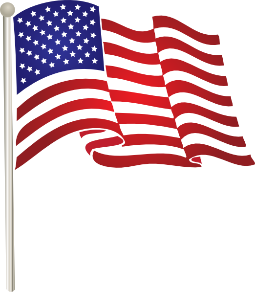 American Flag Png Image American Flag Clip Art Memorial Day Flag Flag Art