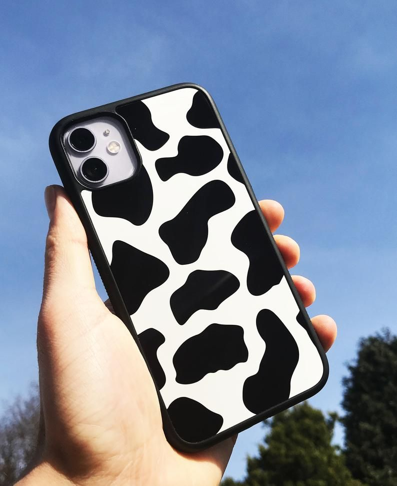 Cow Print iPhone case, Animal Print, iPhone 11 case, 11 pro max, iPhone X/XS, XR Case, 7/8 plus case, SE, Slim and protective phone cases