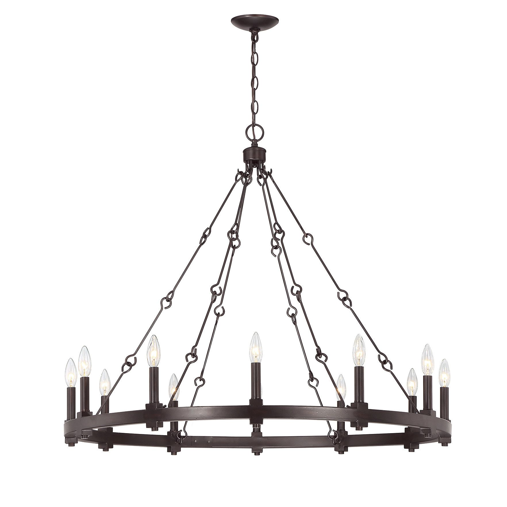 Montreal 12 light candle style chandelier modern farmhouse montreal 12 light candle style chandelier mozeypictures Gallery