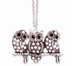 Friendly Owl Necklace