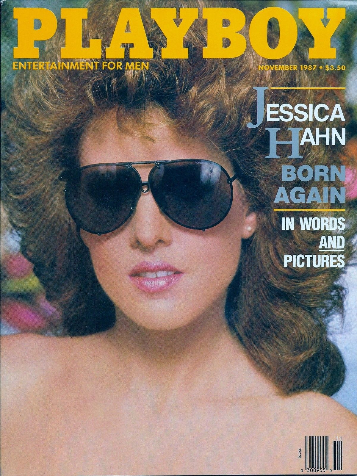 Angela Jane Melini playboy (november 1987 ) (one low price) in plastic sleeve