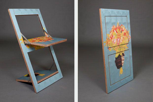 Awesome Folding Chair Fläpps U2013 Knife Flowers