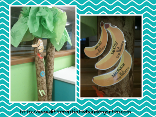 A Differentiated Kindergarten: Ball Words and Top Bananas! Dolch Word and Letter Mastery