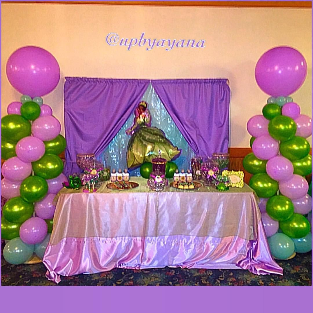 Princess and The Frog Baby Shower Frog baby showers