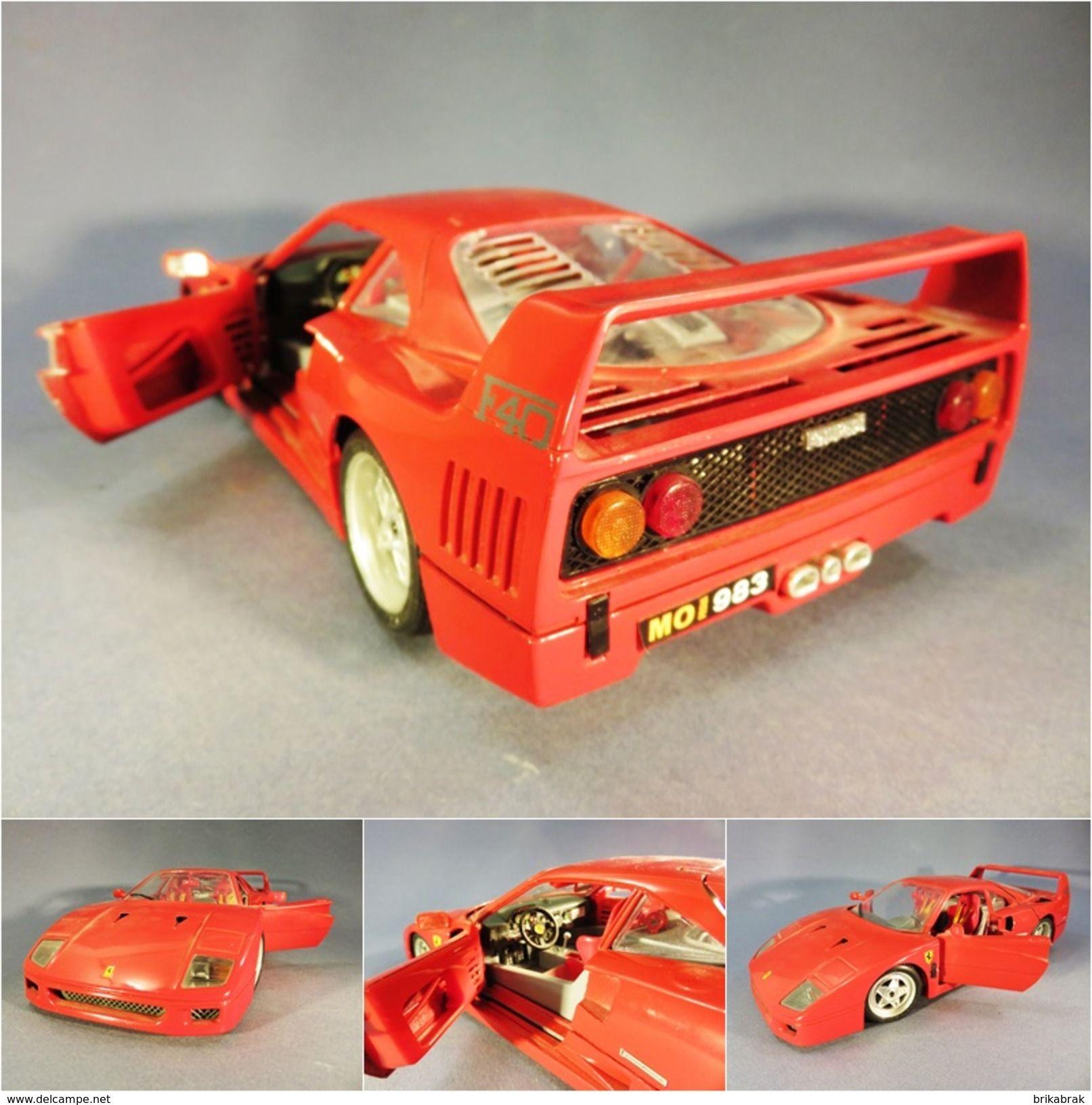 voiture ferrari f40 burago offre d 39 achat sur wazagoo com jouets jeux pinterest voiture. Black Bedroom Furniture Sets. Home Design Ideas