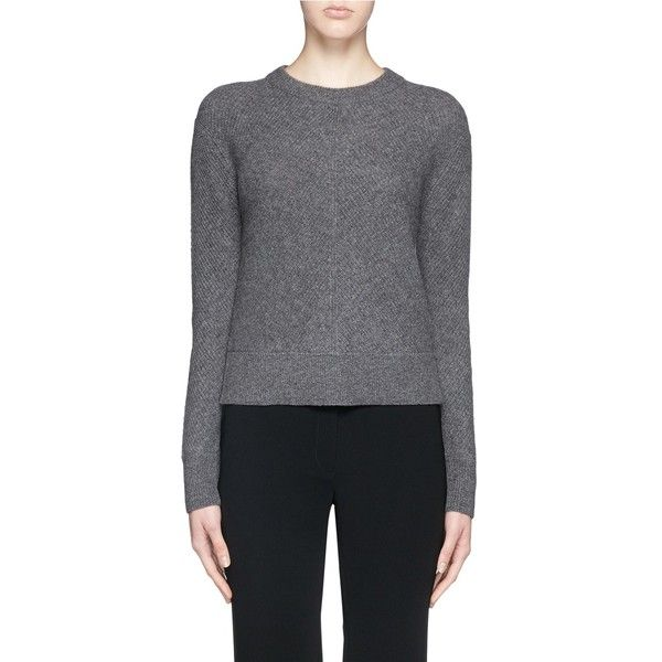 Rag & Bone 'Alexis' cashmere sweater ($395) ❤ liked on Polyvore featuring