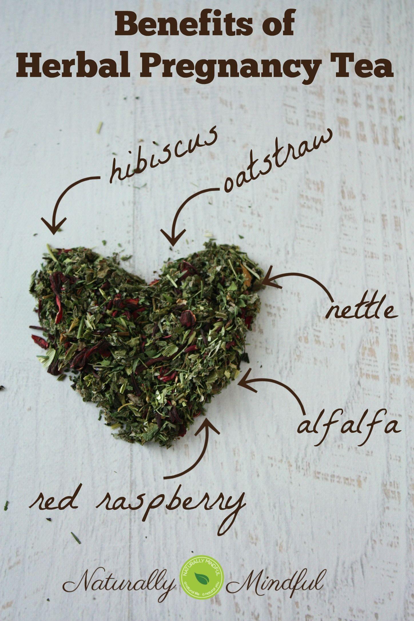 My Herbal Pregnancy Tea Recipe Toning And Nurturing Natural