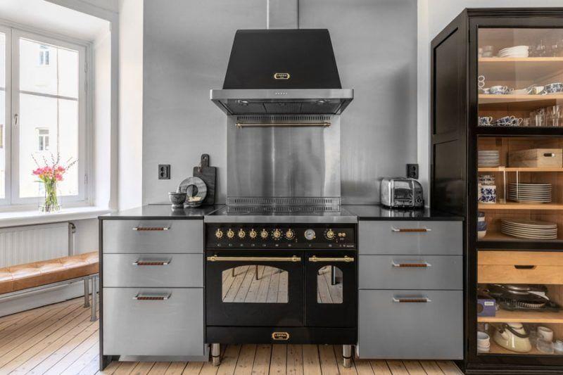 Chique Vintage Keuken : Deze vintage keuken is chique én stoer keuken kitchen