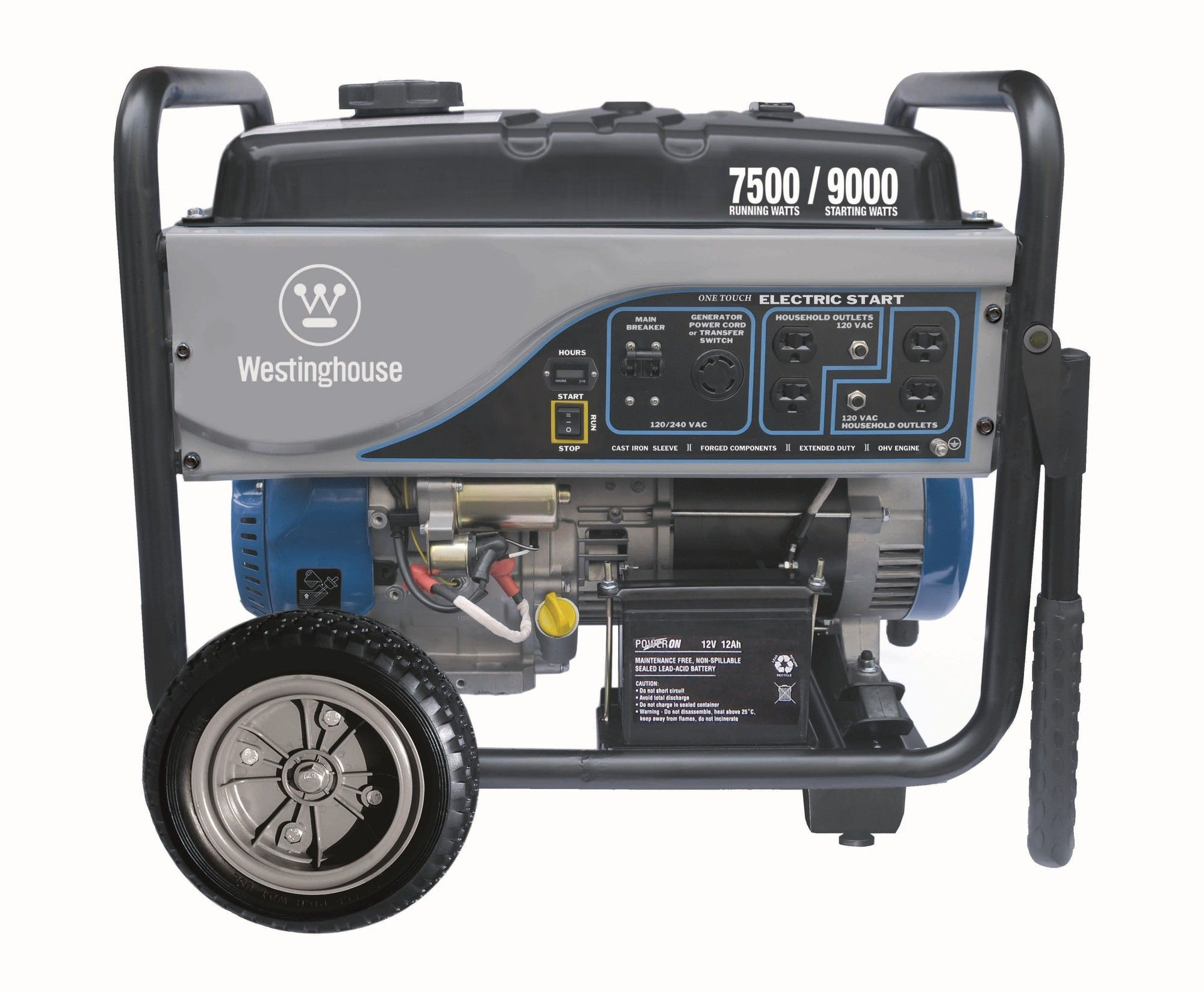 7 500 Watt Generator with Electric Start Products
